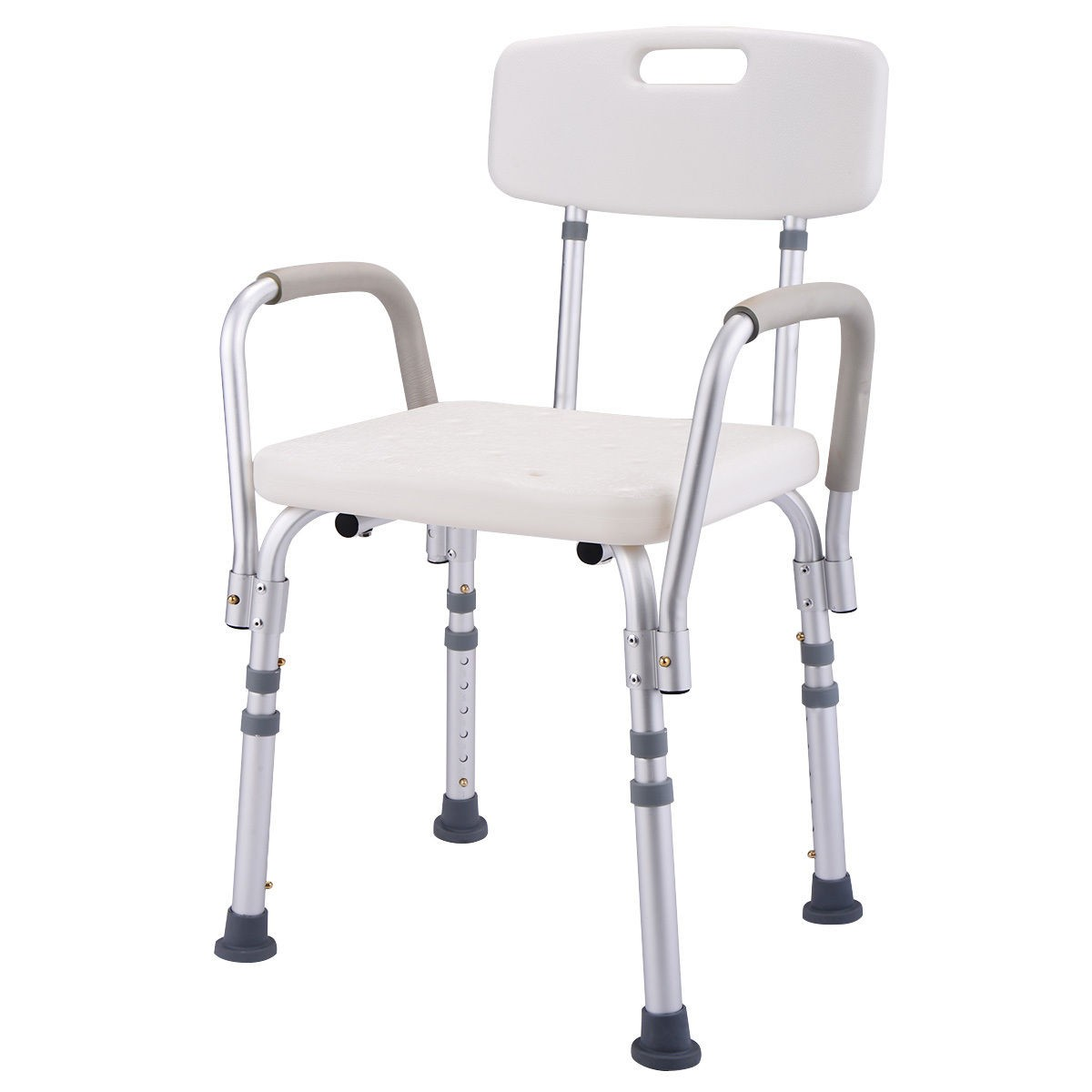 6 height adjustable medical shower chair stool - Creative Home Care ...